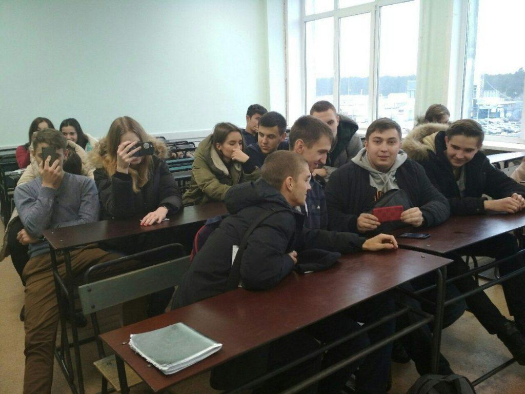 Ролики студенты