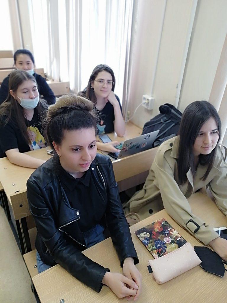 Студенты кафедры менеджмента приняли участие в 73-ей студенческой конференции ЮУрГУ